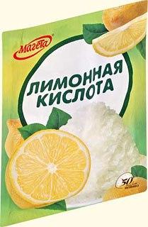 Очистка ванны с помощью лимонной кислоты