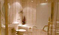 Пластиковые панели в ванной вместо кафельной плитки