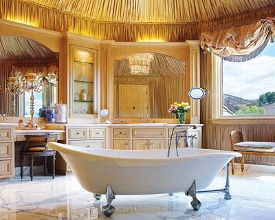 ванна в классическом стиле