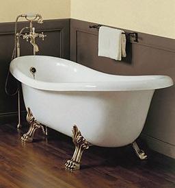 ванна в ретро стиле