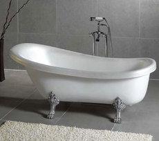 ванна в стиле ретро
