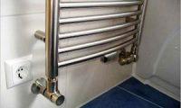 Инструкция по подключению водяного полотенцесушителя