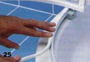 герметизация стыков душевой кабины