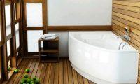 Делаем деревянный пол в ванной своими руками