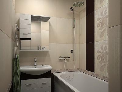 правильная планировка для маленькой ванной