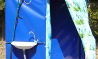 Самостоятельная сборка душевой кабины для дачи