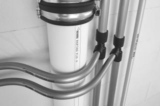 полипропиленовые трубы в ванной