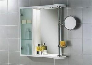 зеркало шкаф в ванной