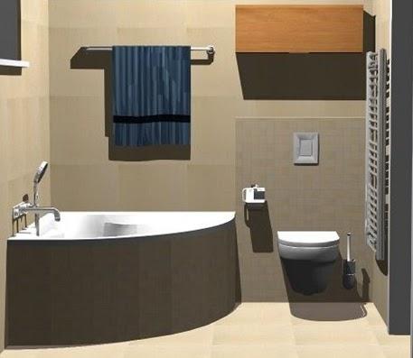 идеальная обстановка ванной