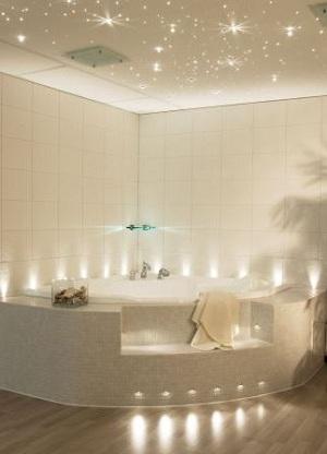идеальное освещение ванной комнаты