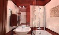 Как оформить маленькую ванную комнату: идеи