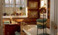 Создаем стиль кантри в ванной
