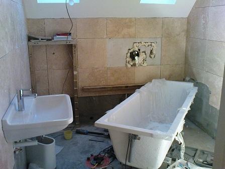 уроки по ремонту ванной комнаты