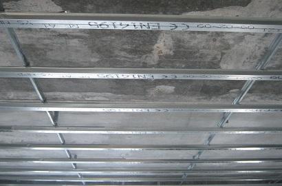 каркас для потолка из панелей