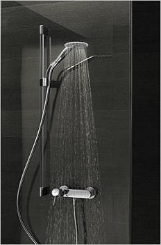 каскадный смеситель душ