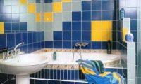 Правильно укладываем плитку в ванной — разные варианты