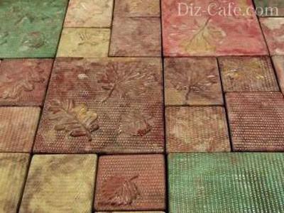 комбинация узоров при укладке плитки