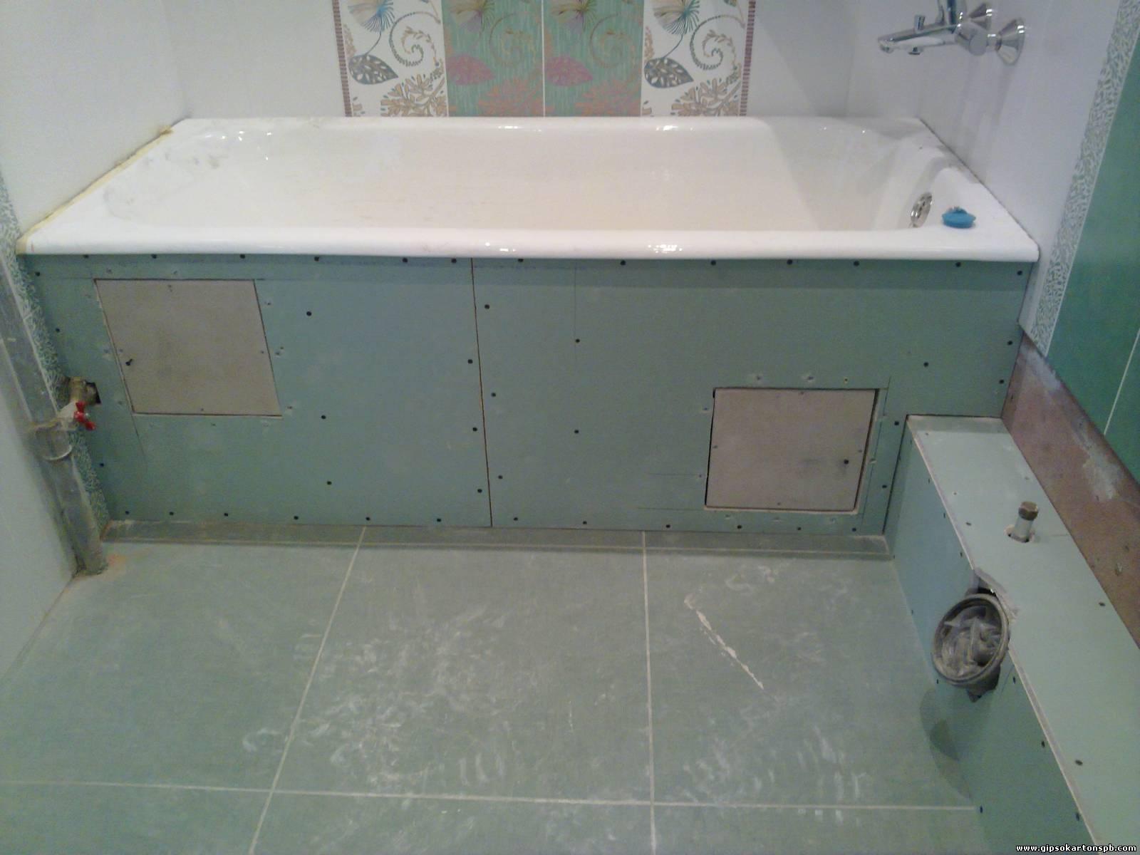 короб ванны