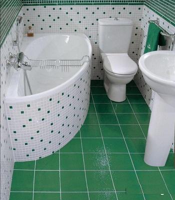 красивая ванная площадью 6 м кв