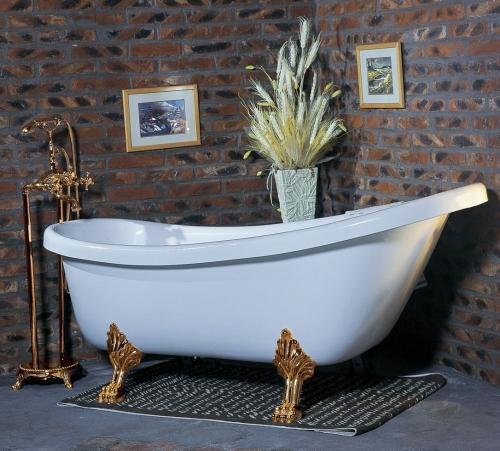 красивая ретро ванна