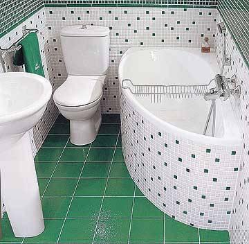 красивая сидячая ванна