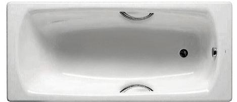 модель стальной ванны Roca Swing