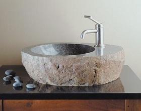 необычная раковина из искусственного камня