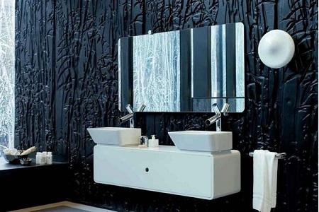 оформление ванной в восточном стиле