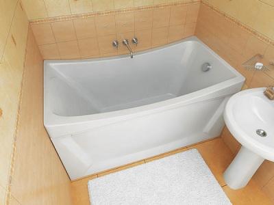 оформление комнаты с ванной