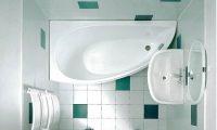 Оформление малогабаритной ванной комнаты