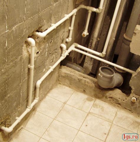 полипропиленовые трубы в устройстве канализации