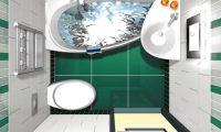 Выполняем перепланировку в ванной комнате