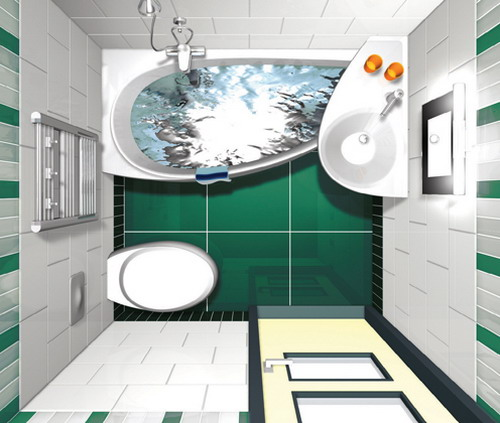 Дизайн и интерьер санузла
