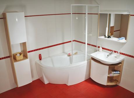 практичная мебель для ванной