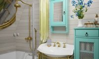 Создаем в ванной комнате красивый дизайн