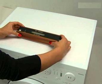 проверка стиральной машины по уровню