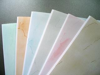 разнообразие пластиковых панелей