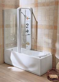 раскладка плитки в ванной с душевой кабиной