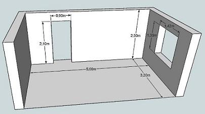 расчет плитки для облицовки стен