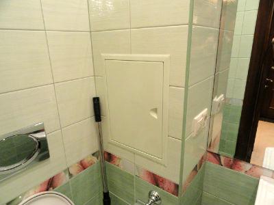 результат Короб в ванной