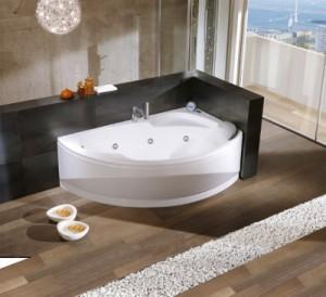 современные акриловые ванны