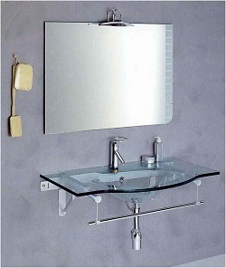 стекляння раковина является исключительно прочной