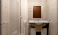 Создаем дизайн в маленькой ванной комнате