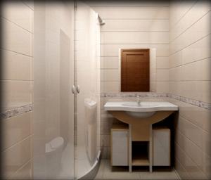 стены в ванной, облицованные пластиковыми панелями