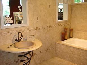 стильная отделка ванной