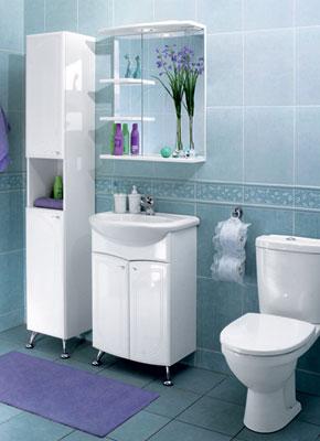 стильная тумба в ванную