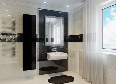 стиль хай тек в ванной комнате