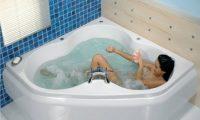 Об угловых гидромассажных ваннах