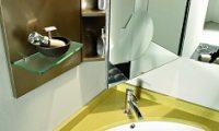 Выбор и установка угловой раковины в ванной комнате