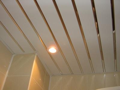 устройство потолка в ванной комнат